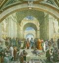 Raffaello School of Athens, 1510 11, Vatican, Stanza della S