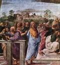 Raffaello Stanze Vaticane La Disputa detail [04]