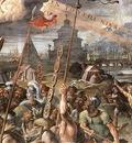 Raffaello Stanze Vaticane Vision of the Cross detail