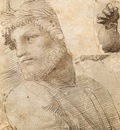 Raphael Study for the Head of a Poet