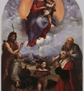 Raphael The Madonna of Foligno