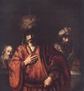 REMBRANDT DAVID AND URIAH 1665 EREMITAGET