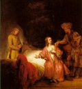 REMBRANDT JOSEPH ACCUSED BY POTIPHARS WIFE 1655 NG WASHINGT