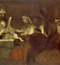 REMBRANDT THE CONSPIRATION OF THE BATAVES 1661 62 NATIONALMU