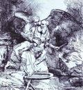 Rembrandt Abrahams Sacrifice