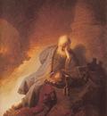 Rembrandt Jeremais Lamenting the Destruction of Jerusalem