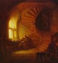 Rembrandt Philosopher Meditating