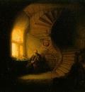 Rembrandt Philosopher in Meditation [1632]