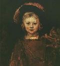 Rembrandt Portrait of Titus, 1653, Norton Simon Foundation,