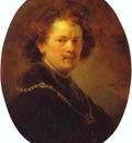 Rembrandt Self Portrait Bareheaded