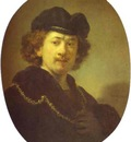 Rembrandt Self Portrait with a Gold Chain