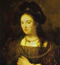 Rembrandt The Artists Wife, Saskia