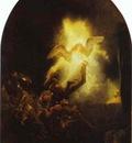 Rembrandt The Resurrection of Christ