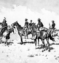 Fr 006 The Borderland of the Other Tribe FredericRemington sqs