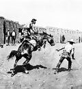 Fr 012 Mexican Vaqueros Breaking a Bronc FredericRemington sqs