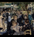 Ball at the Moulin de la Galette, Renoir, 1876 1600x1200