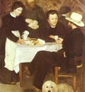 Pierre Auguste Renoir At the Inn of Mother Anthony