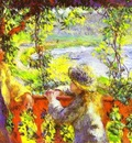 Pierre Auguste Renoir By the Lake