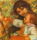 Pierre Auguste Renoir Gabrielle with Renoirs Children