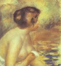 Pierre Auguste Renoir The Bather