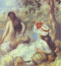 Pierre Auguste Renoir The Bathing