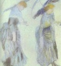 Pierre Auguste Renoir Two Women with Umbrellas