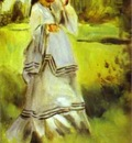 Pierre Auguste Renoir Woman in a Park