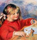 Renoir Auguste Claude Renoir at play Sun