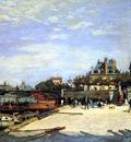 Renoir Pierre Auguste Le Pont des Arts Sun