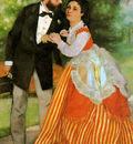 Renoir Pierre Auguste The Sisley couple Sun