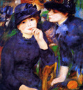 Renoir Pierre Auguste Two girls Sun