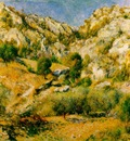 Renoir Rocky Crags at lEstaque Rochers a lEstaque , 66x80