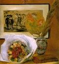 Renoir Still life with bouquet, 1871, 73 3x58 9 cm, Museum o