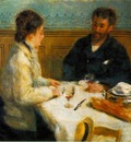 Renoir The Luncheon Le dejeuner , ca 1879, 80 5x90 5 cm, Ba