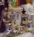 renoir the luncheon of the boating party, 1881, detalj