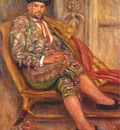 renoir ambroise vollard dressed as a toreador