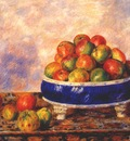 renoir apples in a dish