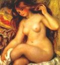 renoir bather with blonde hair 1904