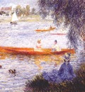 renoir boating at argenteuil
