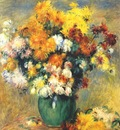 renoir bouquet of chrysanthemums c1885