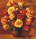 renoir bouquet of roses c1909