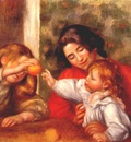 renoir gabrielle jean and a little girl 1895