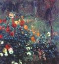 renoir garden in the rue cortot, montmartre