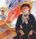 renoir girl in a boat