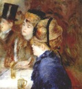 renoir in a cafe women drinking 1877