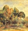 renoir landscape c1900