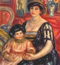 renoir madame dauberville and her son henry