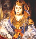 renoir madame stora in algerian dress the algerian woman