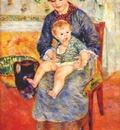 renoir mother and child