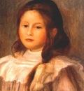 renoir portrait of a child
